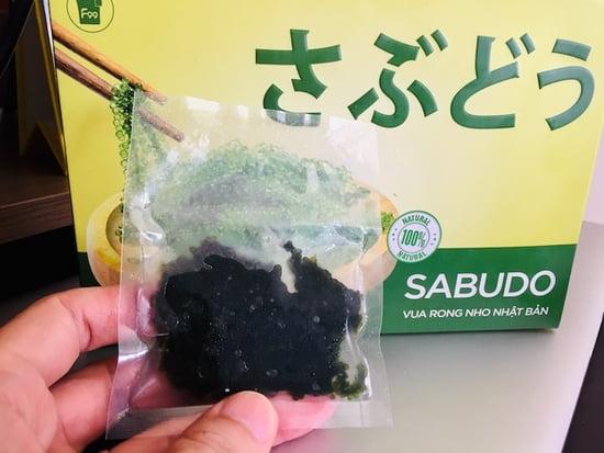 Đánh giá rong nho Sabudo có tốt không?Ăn có vị gì?
